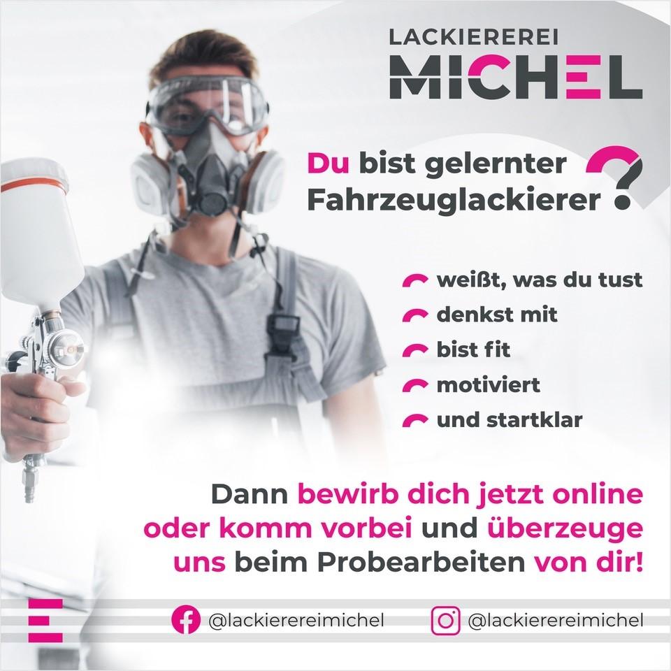 Fahrzeuglackierer gesucht - Lackiererei Michel